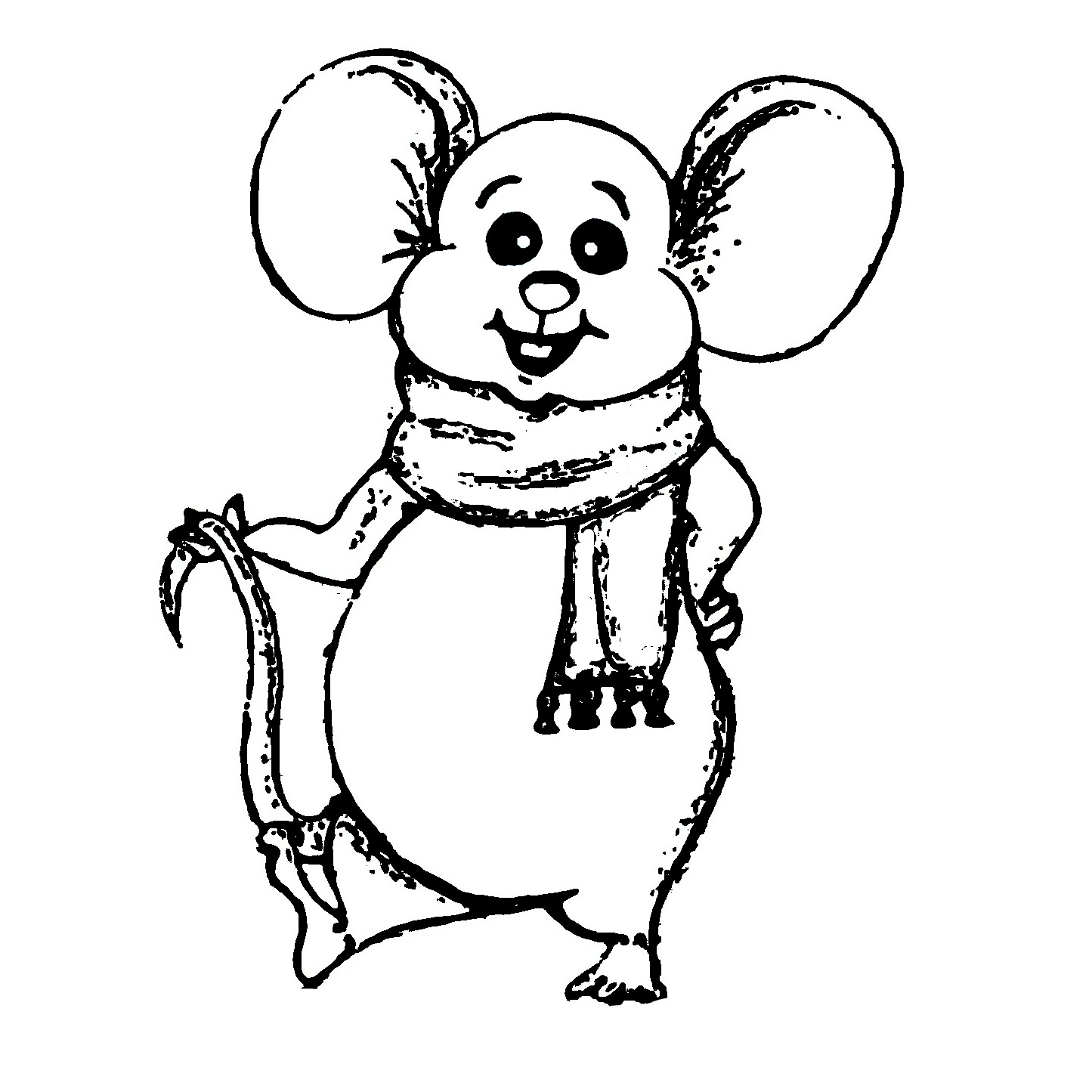 Merry%bmouse%bcoloring%bpage